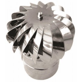 Rookkanaal RVS, aspiromatic, diameter Ø130