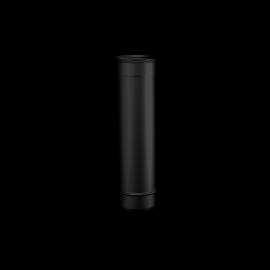 Pelletkachel rookkanaal zwart RVS, Ø80mm premium line, 250mm pijp