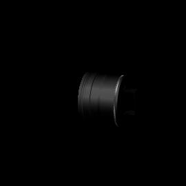 Pelletkachel rookkanaal zwart RVS, Ø100mm premium line, condensdop gesloten
