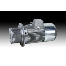 Water-cooled shaft motors