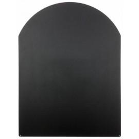 Vloerplaat RVS voor kachel, 600x800mm