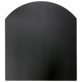 Vloerplaat RVS voor kachel, 800x900mm