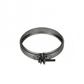 Rookkanaal RVS, Klemband, diameter Ø400/450