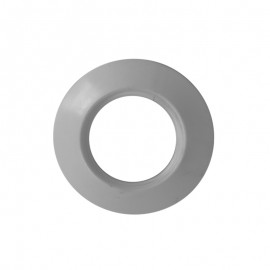 Rozet siliconen wit, diameter Ø60