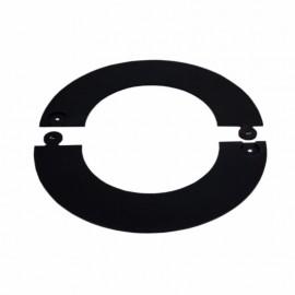 Rozet zwart deelbaar, diameter Ø150