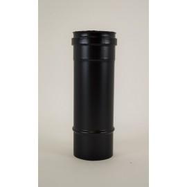 Pelletkachel rookkanaal zwart RVS, diameter Ø80mm, 250mm pijp