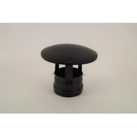 Trekkende regenkap zwart (vrouwelijk), diameter Ø80mm.