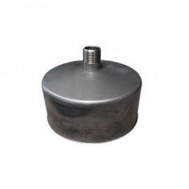 Rookkanaal RVS, Deksel/condensafvoer, diameter Ø400