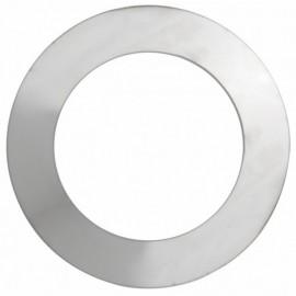 Rookkanaal RVS, Rozet dubbelwandig, diameter Ø400