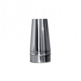 Conische open kap t.b.v. enkelwandig rookkanaal Ø500mm