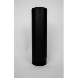 Kachelpijp dikwandig staal, diameter Ø130, 500mm pijp