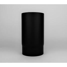 Kachelpijp dikwandig staal, diameter Ø130, 250mm pijp