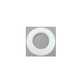 Rozet siliconen wit, diameter Ø80