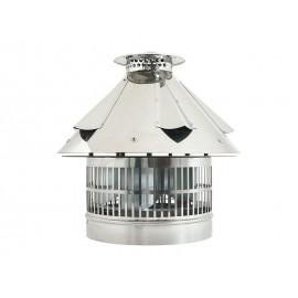 Elektrische rookgas ventilator, verstelbare vierkante aansluiting, 320*320mm - 420*420mm