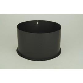 Kachelpijp dikwandig staal, diameter Ø120, nisbus