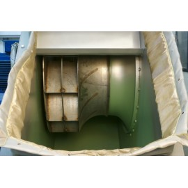 Centrifugaal ventilator met anti-slijtage coating