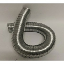 Aluminium buis 140mm (3 meter)