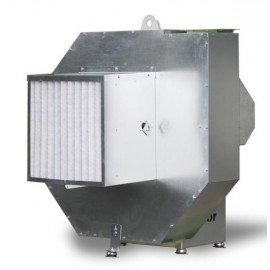 Geluidgedempte ventilator (rotocabe)