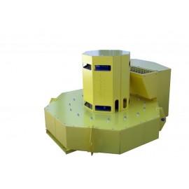 Geluidsdichte ventilator cabine (ROTOCABE OUTLET FREE)