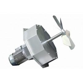 Axiaal, centrifugale en radiale plug ventilator