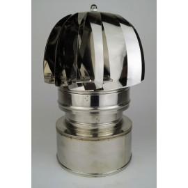 Rookkanaal RVS, aspiromatic, diameter Ø80-130