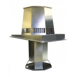 Centrifugale en axiale industriële dak ventilatoren