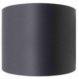 Kachelpijp zwart RVS, Aansluitstuk vrouwelijk-vrouwelijk, diameter Ø140