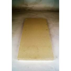 Vuurvaste plaat 400x200x28mm (plat)