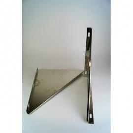 Triangel beugel RVS t.b.v. stoelconstructie Ø210