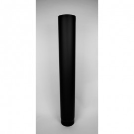 Kachelpijp dikwandig staal, diameter Ø160, 1000mm pijp