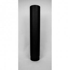 Kachelpijp dikwandig staal, diameter Ø160, 750mm pijp