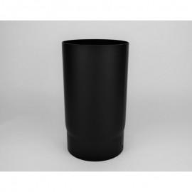 Kachelpijp dikwandig staal, diameter Ø180, 150mm pijp