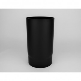 Kachelpijp dikwandig staal, diameter Ø200, 150mm pijp