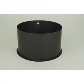 Kachelpijp dikwandig staal, diameter Ø160, nisbus