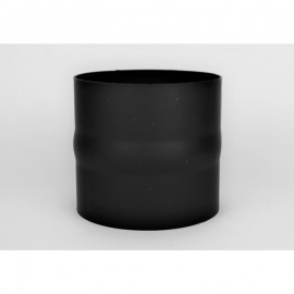 Kachelpijp dikwandig staal, diameter Ø160, verbindingsstuk mannelijk