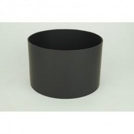 Kachelpijp dikwandig staal, diameter Ø160, verbindingsstuk vrouwelijk